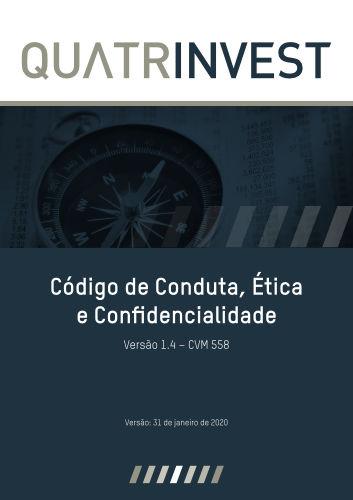 Código de Conduta, Ética e Confidencialidade